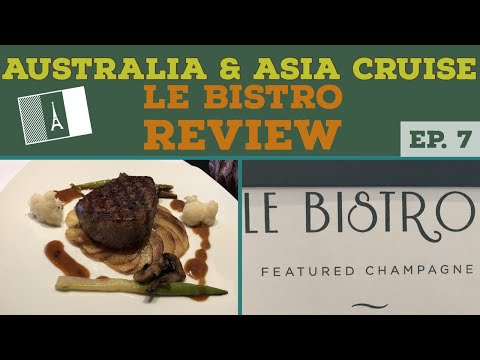 Dinner at LE BISTRO Review l Norwegian Cruise Vlog l Ep. 7
