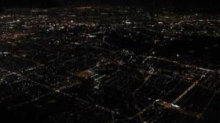 preview picture of video 'Atterrissage aéroport Paris Roissy Charles de Gaule Dec 2008 en provenance de Dakar sur un A321'