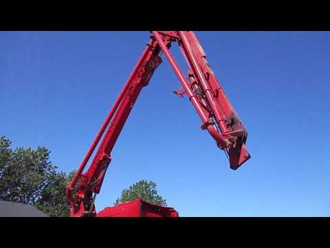 Video: Volvo F6-13/Teka A13/16 betonpumpe lastbil 1