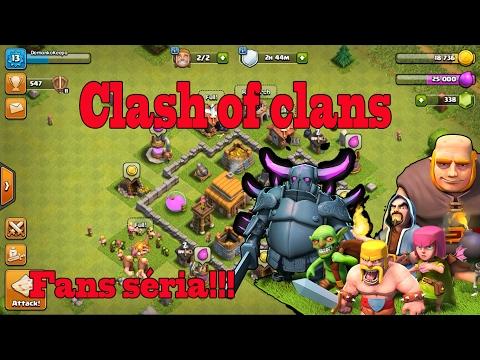 Clash of clans [Fans Séria #1] Začíname !!! SK Let's play