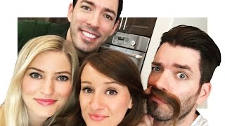 Property Brothers HOUSE TOUR! | iJustine