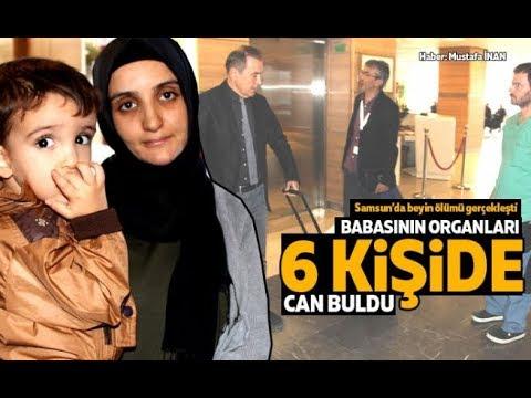 Samsun'da beyin ölümü gerçekleşti... Organlarıyla 6 Kişiye Umut Oldu