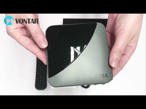 A95X F3 Air 8K RGB Light TV Box Android 9.0 S905X3 4GB 64GB Dual Wifi 4K Netflix Youtube Smart TV
