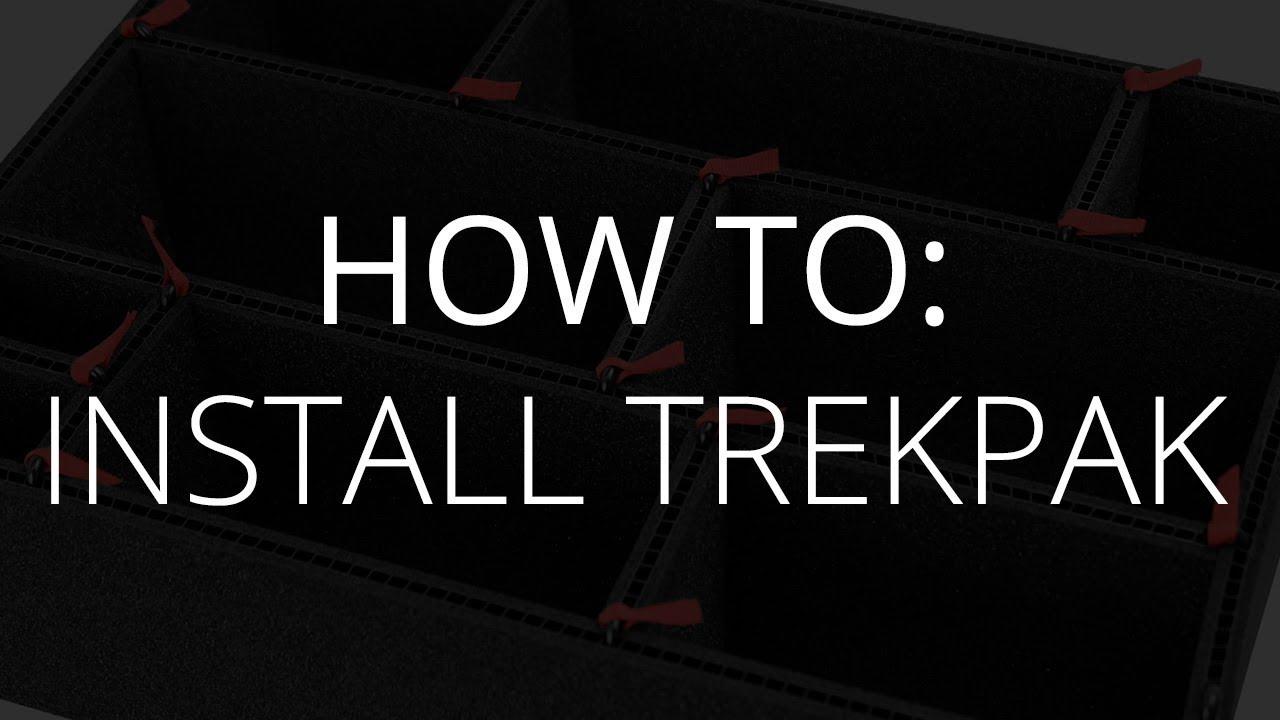 TrekPak Custom Insert for Pelican 1650 Cases