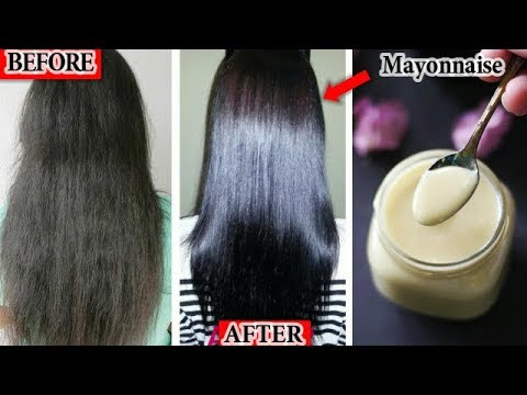 Mayonnaise Hair Spa Cream For Smooth Shiny Straight Hair From Dry Damaged Frizzy Hair|RABIA SKIN CAR