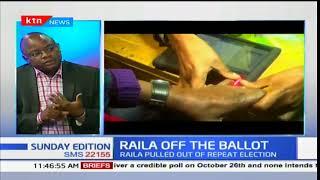 NASA leader Raila Odinga insists he won't participate in fresh polls: Sunday Edition