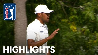 Tony Finau's highlights | Round 2 | BMW Championship 2019