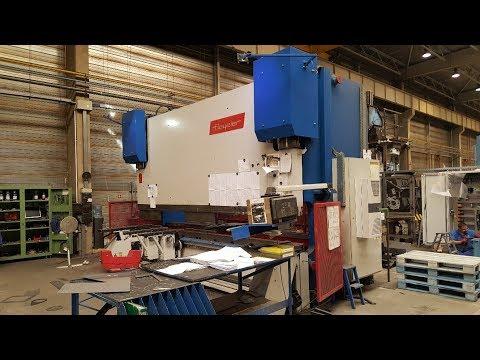 Prasa krawędziowa hydrauliczna CNC BEYELER PR 10 500/5100 1999