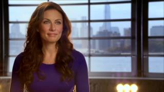 "The Sound of Music Live: Laure Benanti ""Elsa Schraeder"" On Set TV Interview"