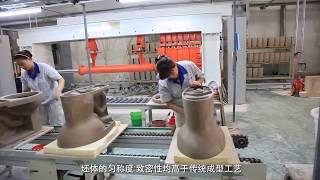 Quy trình sản xuất bàn cầu liền khối - SUPOR