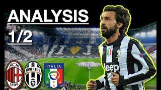 How Andrea Pirlo Plays | The Best Regista | Analysis 1/2