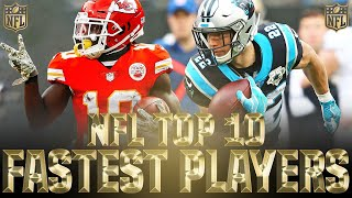 Top 10 Fastest Players in the NFL 2020
