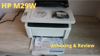 Hp MFP M29W Unboxing