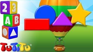 TuTiTu Przedszkole | Nauka Kształtów po angielsku dla dzieci | Balon