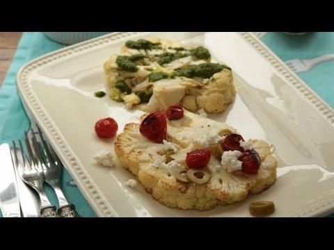 How to Make Cauliflower Steak | Cauliflower Recipes | Allrecipes.com