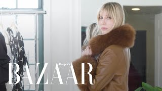 Trying on All My Winter Clothes   Try On My Closet   Harper's BAZAAR