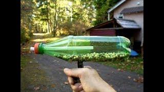 Machine gun bottle.