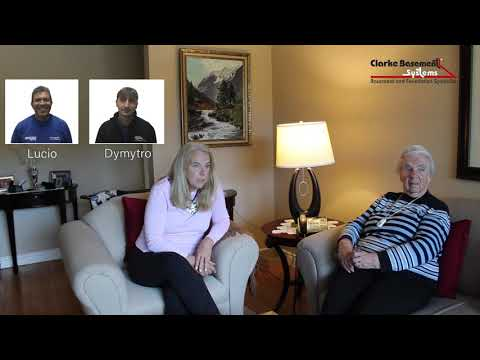 A mother-daughter duo in Peterborough were ecstatic with our services! Watch now to hear their advice on why you should get a full-perimeter waterproofing solution by Clarke Basement Systems.