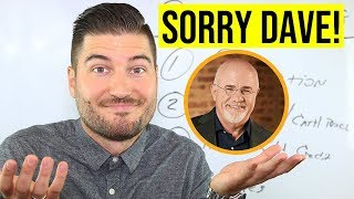 Why Dave Ramsey Is WRONG About Credit Cards