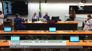 Instalação da Comissão e Eleição do Presidente e dos Vice-Presidentes - 08/06/2021 14:30