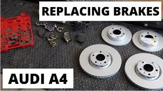 HOW TO REPLACE BRAKES | AUDI A4 B6 B7 (2002-2008)