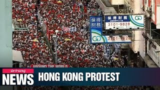 More Than Million People Take To Hong Kong Streets Against Controversial Extradition Bill