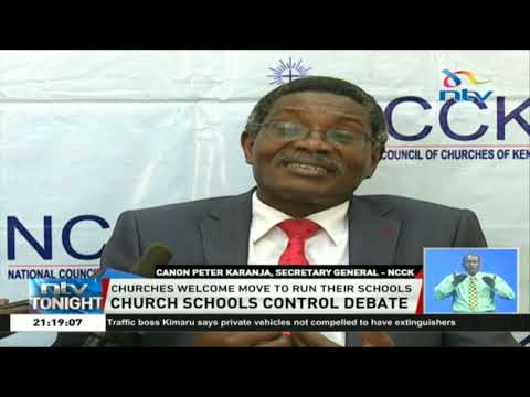 Churches welcome move to run their schools