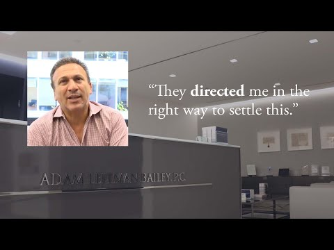 Adam Leitman Bailey, P.C. Client Testimonial – A.L. testimonial video thumbnail