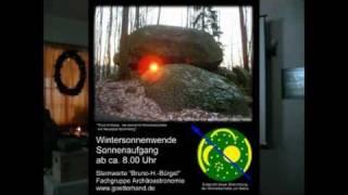 preview picture of video '2. Teil Ausschnitte des Vortrages Sonnenheiligtümer der Oberlausitz von 2010'