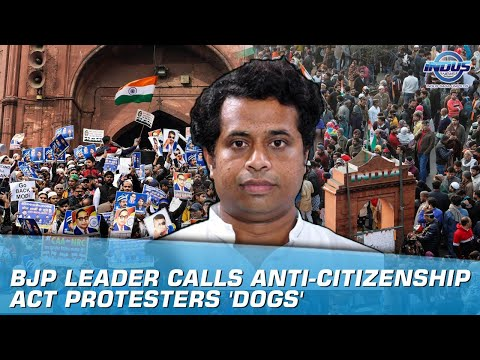BJP leader calls anti-citizenship act protesters 'dogs' | Indus News