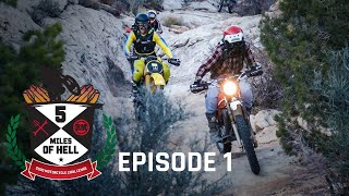 We're Taking $500 Dirt Bikes WHERE?! | 5 Miles of Hell $500 Motorcycle Challenge - Episode 1