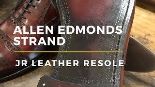 Allen Edmonds Strand Restoration | JR Leather Soles