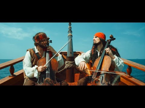 2CELLOS - Pirates Of The Caribbean [OFFICIAL VIDEO]