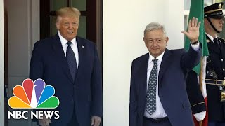 Live: Trump Signs Joint Declaration With President Of Mexico   NBC News