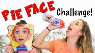 Pie Face Challenge | Brooklyn and Bailey