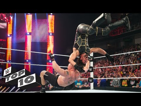 Miraculous Superstar landings: WWE Top 10, Feb. 26, 2018 (видео)