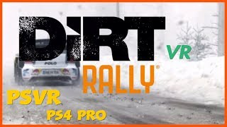 Dirt Rally VR - Fiesta RS 2 snow stages - No room for error