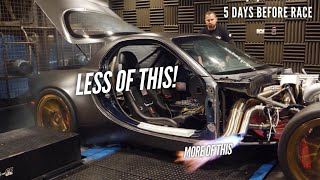 We finally remove the 4 Rotor's Rubbing Fenders that RUINED tires on the dyno by Rob Dahm