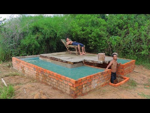 Build Secret Home Under Swimming Pool Past 2