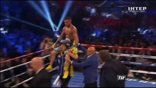 Ломаченко Линарес нокаут  Lomachenko Linares Knockout