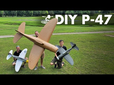 flying-8foot-p47-thunderbolt--made-from-foamboard