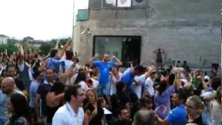 preview picture of video 'Germania - Italia 1-2 - 2° Gol di Mario Balotelli - Festeggiamenti a Bolzano (28.06.2012)'