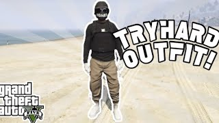 *EASY* TAN JOGGER TRYHARD OUTFIT! GTA V Online After Patch 1.48