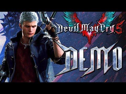 "Прохождение Devil May Cry 5: DEMO — ВОЗВРАЩЕНИЕ ""НЕРО"" И БИТВА С ""ГОЛИАФОМ"""