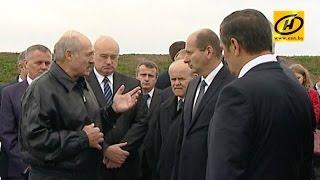 Лукашенко остался недоволен темпами строительства второй кольцевой автодороги вокруг Минска