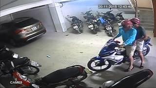 Ăn trộm xe siêu tốc