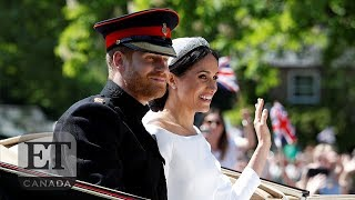 Prince Harry, Meghan Markle Carriage Ride Through Windsor | ROYAL WEDDING