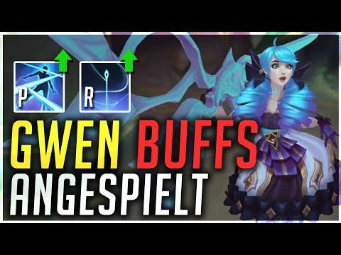 Gwen Buffs sind SO Strong! Gwen Toplane Gameplay PBE [League of Legends Deutsch \/ German]
