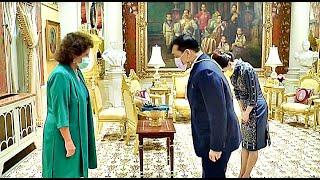 พระบาทสมเด็จพระเจ้าอยู่หัว สมเด็จพระนางเจ้าฯ พระราชทานพระบรมราชวโรกาสให้เอกอัครราชทูตต่างประเทศเฝ้าฯ