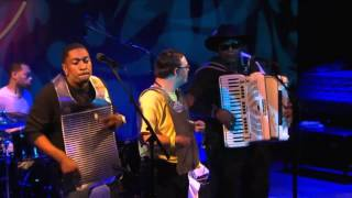 Nathan Williams  The Zydeco Cha Chas - Let's Go